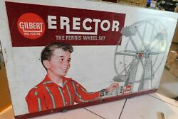 R4 1960s Ac Gilbert Erector The Ferris Wheel Set 10074 Collectable Toy
