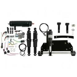 Electric Center Stand+air Ride Suspension Tank Fit For Harley Street Glide 09-16