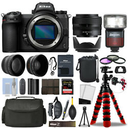 Nikon Z 7ii Mirrorless Camera With 24-50mm + 32gb 3 Lens Ultimate Accessory Kit
