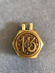 Antique Trench Pocket French Cigarette Lighter,circa 1913