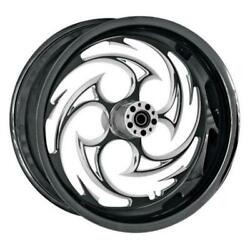 Rc Components 18550-9210-85e Savage Eclipse Rear Wheel - 18x5.5in. Black