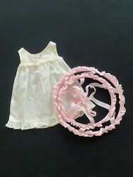 """American Girl Doll Crinoline And Chemise 18"""" Set Marie-grace Cécil Addy"""