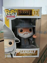 Funko Pop Movies Gandalf 13 With Hat Vaulted - The Hobbit