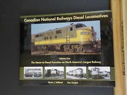 Canadian National Railways Diesel Locomotives Volume One By Holland And Goslett