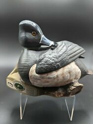 1992 Regal China Jim Beam Ducks Unlimited Ring-necked Duck Decanter With Box