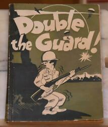 Double The Guard 260th Engr. Combat Battalion History Book Wwii Vintage Scarce