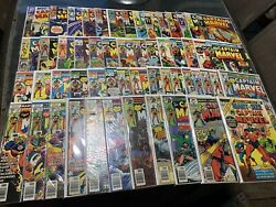 Captain Marvel 55 Comic Book Lot With Marvel Super Heroes 12