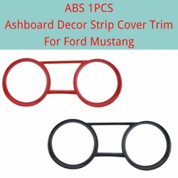 Ashboard Decor Strip Cover Trim For Ford Mustang 2010-20141pcs Abs