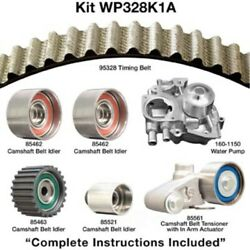 Engine Timing Belt Kit With Water Pump-water Pump Kit W/o Seals Dayco Wp328k1a