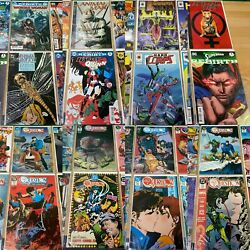 Comic Book Lot Of 48 - The Question, Animal Man More -bagged Boarded Cx9