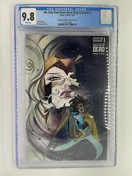 We Only Find Them When Theyandrsquore Dead 1 Cgc 9.8 Glow In The Dark Peach Momoko