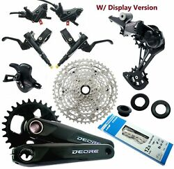 Shimano Deore Sl-rd-cn-cs-bl-m6100 Fc-br-m6120 10-51t 1x12 Groupset 148 Old Read