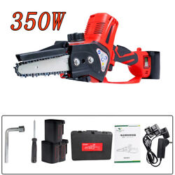 Electric Chain Saw Handheld Logging Saw Portable Battery Saw Gardening Saw New