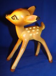 Disneyand039s Evan K. Shaw/american Pottery Bambi Near Mint Condition - 70 Years Old