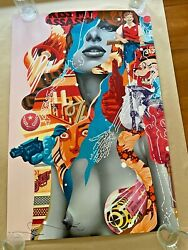 Kiss My Assassin By Tristan Eaton Signed Poster Art Print Audrey Of Mulberry