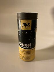 Vintage Camel Bicycle Motorcycle Tire Tube Repair Kit Tin Can Gas Oil