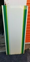 Vintage 7up Seven Up Metal Sign Blank 47.75x19.5 New Old Stock B