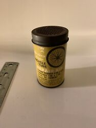 Vintage Western Flyer Bicycle Motorcycle Tire Tube Repair Kit Tin Can Gas Oil