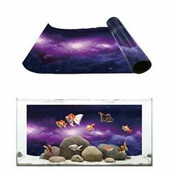 Aquarium Background Fish Tank Wallpaper Easy to Apply and Remove PVC Sticker Pic