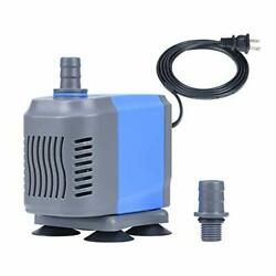 660gph Submersible Water Pump2500l/h 50w With 5.9ft Power Cord Fountain Pump W