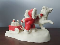 Dept. 56 Snowbabies On The Farm Lead The Way Retired And Htf