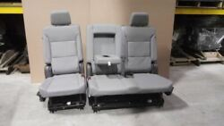 Leather Rear 60/40 Seat Set Fits 21 Tahoe See Notes 2178109