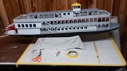 Creole Queen Paddle Boat 50lg Model ,radio Controlled, Pickup Only