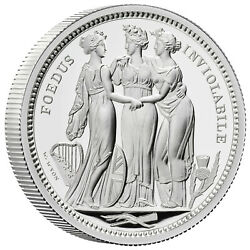 The Three Graces Great Engravers 2 Ounce Silver Proof 5andpound Uk 2020 Royal Mint