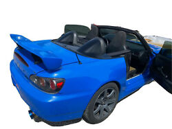 S2000 Cr Tonneau Cover For Hardtop Version In Berlina Black Tonneau Cover Only
