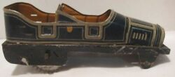 Old 1920s German Tin Wind Up Penny Toy Convertible Limousine Body Part