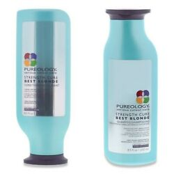 2 Pack Pureology Strength Cure Best Blonde Shampoo And Conditioner 8.5 Oz Duo
