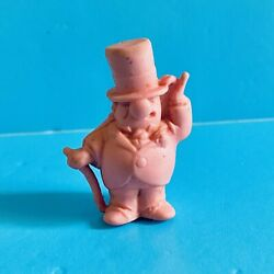 Vintage Rubber Toy - W.c. Fields Pencil Topper Eraser Pink - Frito Lay 1971
