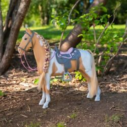 Our Generation Palamino Hair Play Horse For Dolls Children's Role-playing Toys