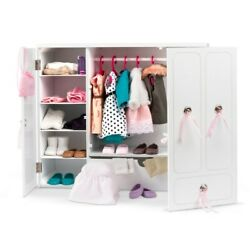 Our Generation Wooden Wardrobe Doll For 46cm Dolls Children's Role-playing Toys