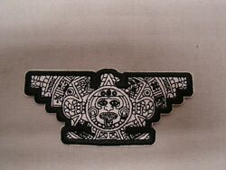 Black And White Aztec United Farm Workers Patch Raza Patch Jacket Ufw Patch Huelga