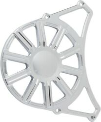 Arlen Ness - P-1165 - Front Drive Pulley Cover, 10-gauge - Chrome Indian,victory