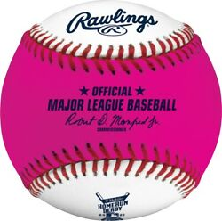 2021 Rawlings All Star Game Official Home Run Derby Pink Moneyball Baseball