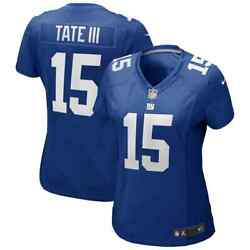 Brand New 2021 Nfl Golden Tate New York Giants Nike Women's Game Player Jersey