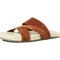The Menand039s Store Mens Suede Slides Footbed Espadrilles Shoes Bhfo 1129