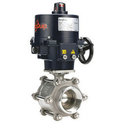 Dynaquip Controls E3s2aaje02 3 Fnpt Stainless Steel Electronic Ball Valve 2-way