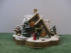 Lilliput Lane Snow Cottage We Wish You A Merry Christmas L3052 Mib With Deed.