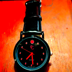 Nwot Charming Charlies Black And Pink Women's Watch