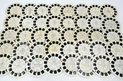 View Master Lot Of 40 Us Reels Travel Parks Cities Landmarks Childrenand039s H