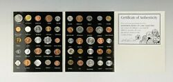 Wonderful World Of Coin Collecting - 50 Countries Uncirculated Foreign Coins