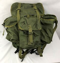 Lc-1 Large Alice Field Pack Backpack W/ Metal Frame, Belt Us Military