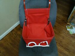 Red Vintage Style Child Car Seat Baby Seat Safety Seat Antique Car Seat Safety