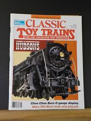 Classic Toy Trains 1992 June Lionel Gang Car Marx Old West Train Playset Hudson