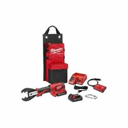 Milwaukee 2678-22o M18andnbspforce Logic 6t Utility Crimper Kit W/d3 Grooves And
