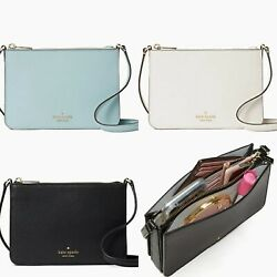 Kate Spade Darcy Small Triple Compartment Slim Crossbody Leather $89.99