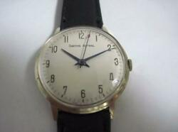 Smiths Astral Manual 17jewels Men's Analog Watch Used Vintage Antique 1960s